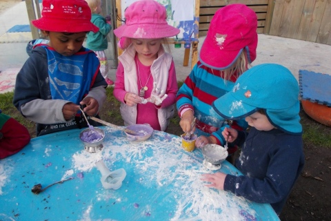 Messy Play and Art